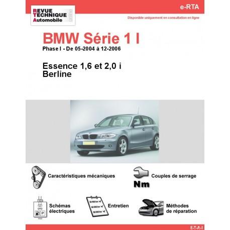 e-RTA BMW Série 1 I ( E87) Essence (05-2004 à 12-2006)