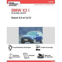 e-RTA BMW X3 I (E83) Diesel (08-2006 à 08-2010)