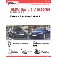 e-RTA BMW Série 5 V (E60/E61) Essence (03-2007 à 05-2010)