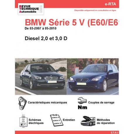 e-RTA BMW Série 5 V (E60/E61) Diesel (03-2007 à 05-2010)