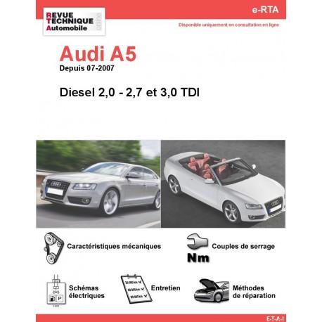 e-RTA Audi A5 Diesel (Depuis 07-2007)