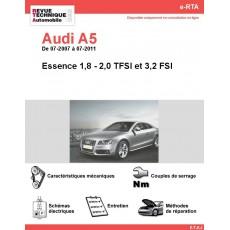 e-RTA Audi A5 Essence (07-2007 à 07-2011)