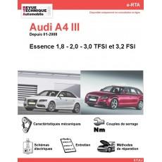 e-RTA Audi A4 III Essence (Depuis 01-2008)