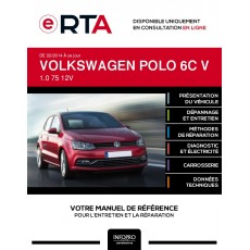 E-RTA Volkswagen Polo V HAYON 5 portes de 02/2014 à ce jour