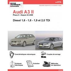 e-RTA Audi A3 II Diesel (Depuis 02-2008)