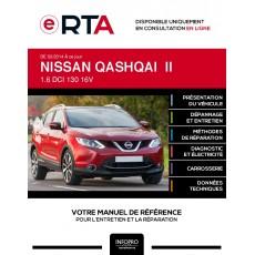 E-RTA Nissan Qashqai II BREAK 5 portes de 02/2014 à ce jour