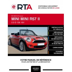 E-RTA Mini Mini II CABRIOLET 2 portes de 08/2010 à ce jour