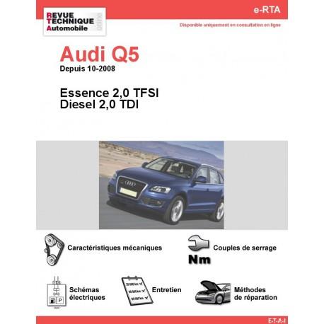 e-RTA Audi Q5 Essence et Diesel (Depuis 10-2008)