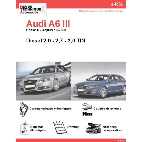 e-RTA Audi A6 III Diesel (Depuis 10-2008)