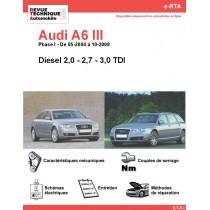 e-RTA Audi A6 III Diesel (05-2004 à 10-2008)