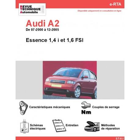 e-RTA Audi A2 Essence (07-2000 à 12-2005)