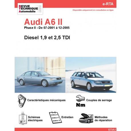 e-RTA Audi A6 II Diesel (07-2001 à 12-2005)