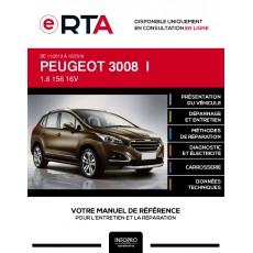 E-RTA Peugeot 3008 I BREAK 5 portes de 11/2013 à 12/2016