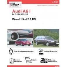 e-RTA Audi A6 I Diesel (07-1994 à 01-1998)