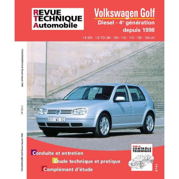 Revue Technique Volswagen golf iv