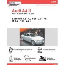 e-RTA Audi A4 II Essence (09-2004 à 04-2008)