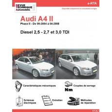 e-RTA Audi A4 II Diesel sauf 1,9 et 2,0 TDI (09-2004 à 04-2008)