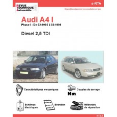 e-RTA Audi A4 I Diesel 2,5 TDI (02-1995 à 02-1999)