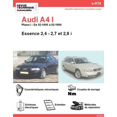 e-RTA Audi A4 I Essence 2,4 - 2,7 - 2,8 i (02-1995 à 02-1999)