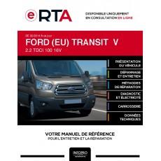 E-RTA Ford (eu) Transit V FOURGON 4 portes de 02/2014 à ce jour