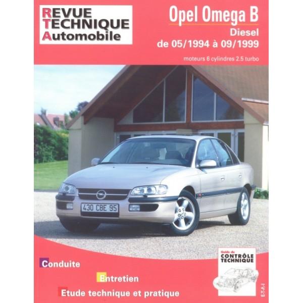 Revue Technique Opel omega