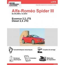 e-RTA Alfa-Roméo Spider III Essence et Diesel (09-2006 à 12-2010)