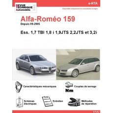 e-RTA Alfa-Roméo 159 Essence (Depuis 09-2005)