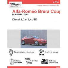 e-RTA Alfa-Roméo Brera Coupé Diesel (01-2006 à 12-2010)