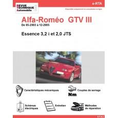 e-RTA Alfa-Roméo  GTV III Essence (05-2003 à 12-2005)