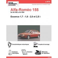 e-RTA Alfa-Roméo 155 Essence (04-1992 à 05-1998)