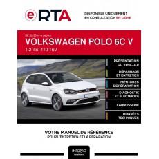 E-RTA Volkswagen Polo V HAYON 3 portes de 02/2014 à ce jour