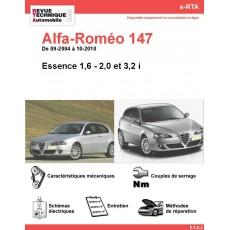 e-RTA Alfa-Roméo 147 Essence (09-2004 à 10-2010)