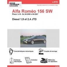 e-RTA Alfa Roméo 156 Sportwagon Diesel (04-2000 à 04-2007)