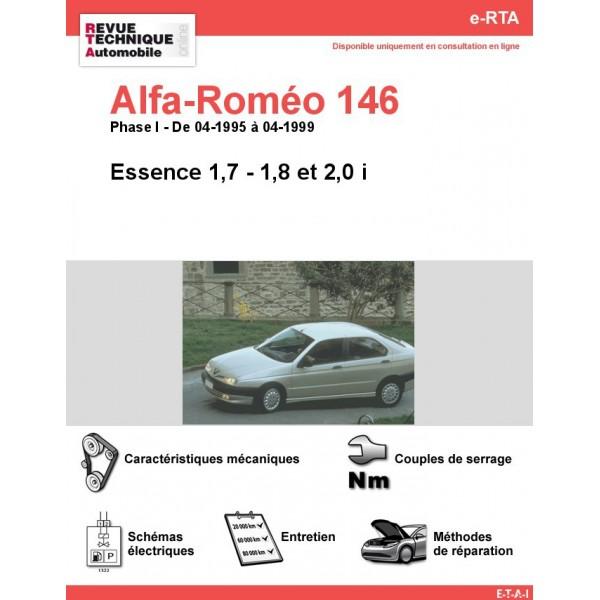 e-RTA Alfa-roméo 146 Essence (04-1995 à 04-1999)