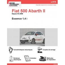 e-RTA Fiat 500 Abarth II Essence (Depuis 05-2008)