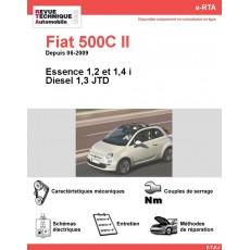e-RTA Fiat 500C II Essence et Diesel (Depuis 06-2009)