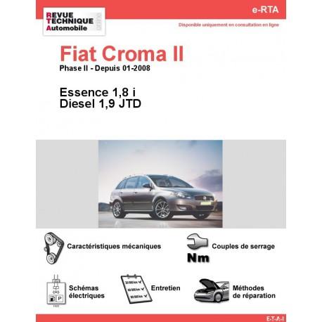e-RTA Fiat Croma II Essence et Diesel (Depuis 01-2008)