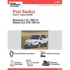 e-RTA Fiat Sedici Essence et Diesel (Depuis 09-2009)