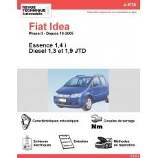 e-RTA Fiat Idea Essence et Diesel (Depuis 10-2005)