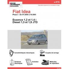 e-RTA Fiat Idea Essence et Diesel (01-2004 à 10-2005)