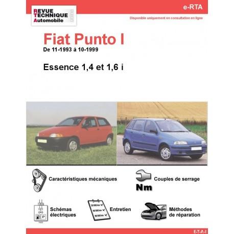 e-RTA Fiat Punto I Essence 1,4 - 1,6 i (11-1993 à 10-1999)