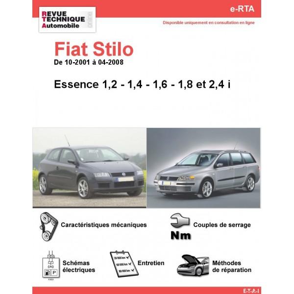 e-RTA Fiat Stilo Essence (10-2001 à 04-2008)