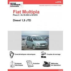 e-RTA Fiat Multipla Diesel (09-2004 à 04-2010)