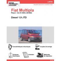 e-RTA Fiat Multipla Diesel (01-1999 à 09-2004)