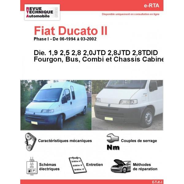 e-RTA Fiat Ducato II Diesel (06-1994 à 03-2002)