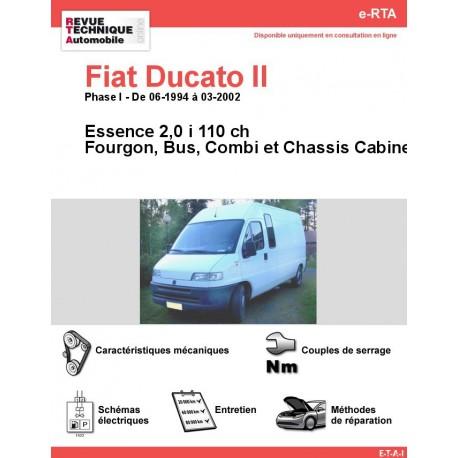 e-RTA Fiat Ducato II Essence (06-1994 à 03-2002)
