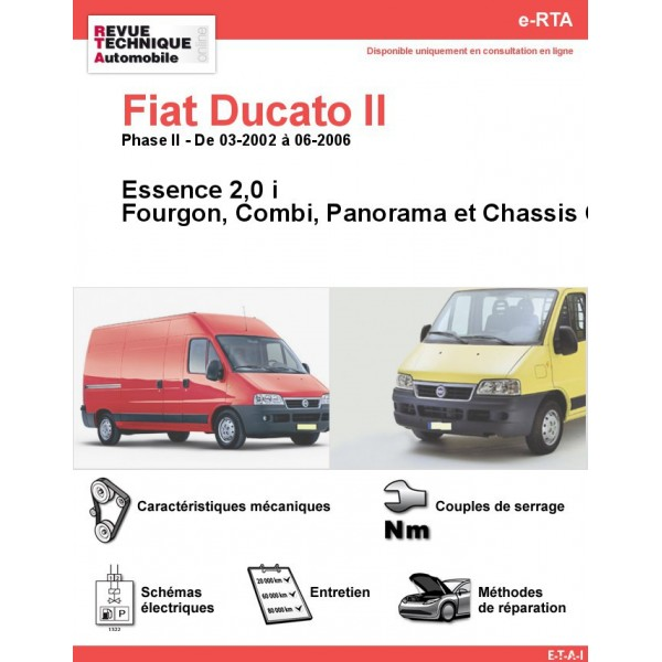 revue technique fiat ducato ii essence rta site. Black Bedroom Furniture Sets. Home Design Ideas