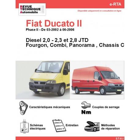 e-RTA Fiat Ducato II Diesel (03-2002 à 06-2006)