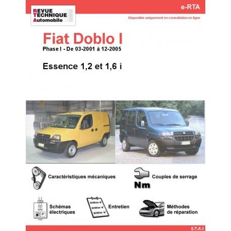 e-RTA Fiat Doblo I Essence (03-2001 à 12-2005)
