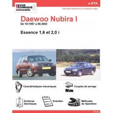 e-RTA Daewoo Nubira I Essence (10-1997 à 09-2002)